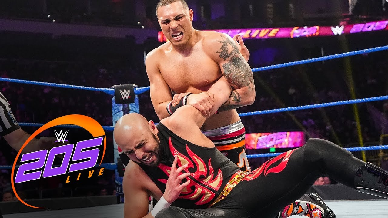 Joaquin Wilde vs. James Tapia: WWE 205 Live, Dec. 13, 2019