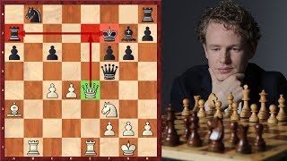 Download Jan Gustafsson Crushes His Opponent With An Amazing Queen Sacrifice Mp3 and Videos