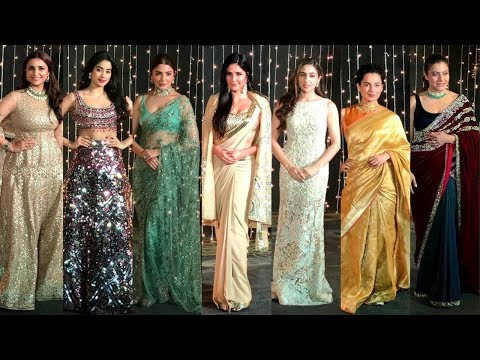 Bollywood Actress At  Priyanka Chopra And Nick Jonas Wedding Reception
