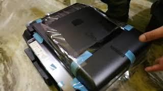 Epson L565 inkjet printer unboxing