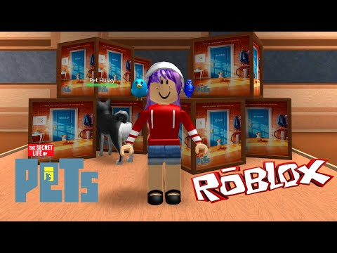 ROBLOX LET'S PLAY SECRET LIFE OF PETS TYCOON | RADIOJH GAMES