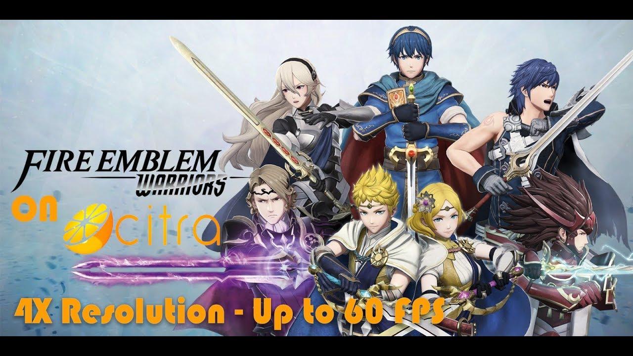 Fire Emblem Warriors - 4X Resolution - Up to 60 FPS - Citra Emulator Test  Build