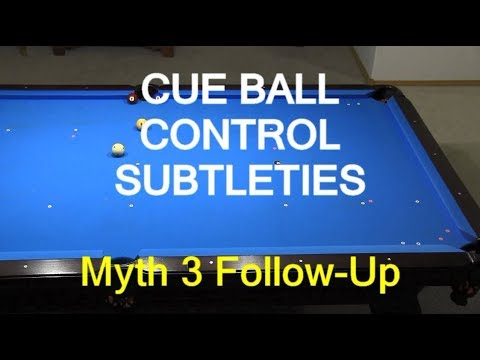 Cue Ball Control Reference Lines - Billiards and Pool
