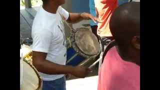 Tambores Chimbángueles - Golpe Chimbangalero Vaya (Ejecución de los tambores)