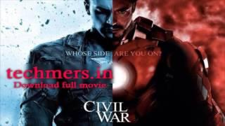 Caiptain america-Civil War 720p Dual Audio Eng-Hindi Blueray  Free Download