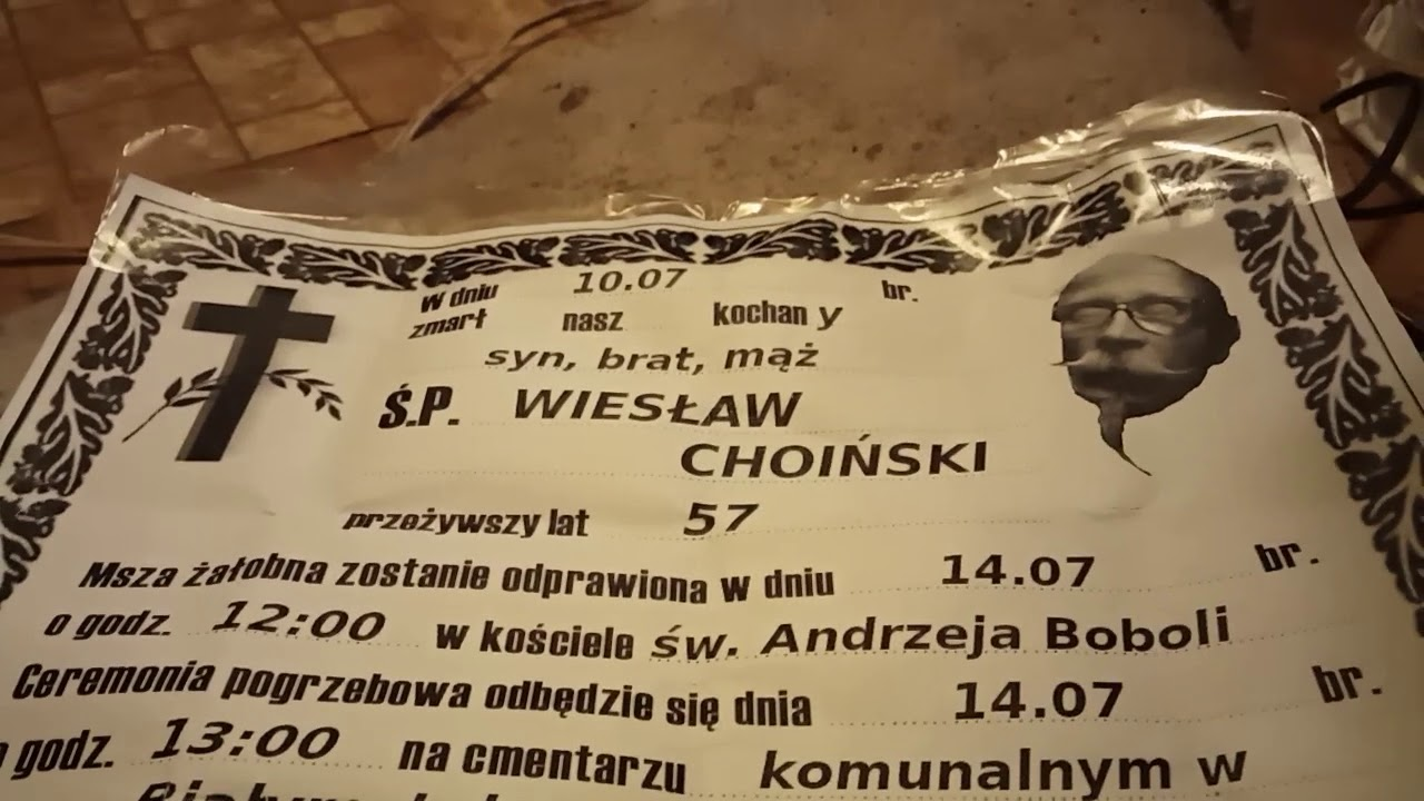 Śp. Wiesław Ch**ński