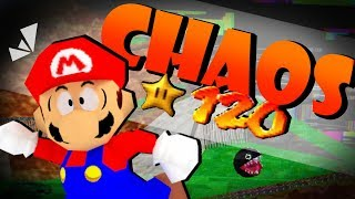 ALL 120 STARS OF CHAOS MARIO 2.0 (The most frustrating version)