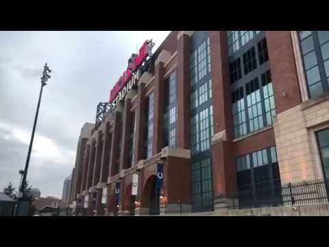 This Is Lucas Oil Stadium Home Of The Indianapolis Colts And NFL Combine