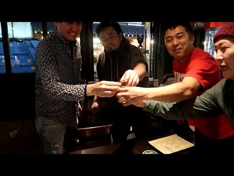 Getting DRUNK with the local Japanese!