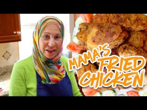 How to Cook Mamas Fried Chicken, Fries and Garlic Bread!