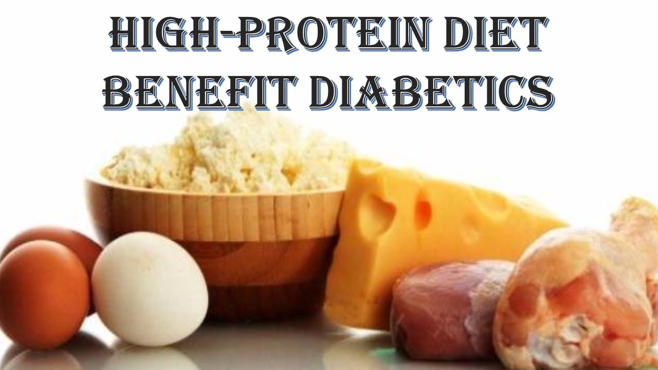 High-Protein Diets May Not Help Those with Diabetes