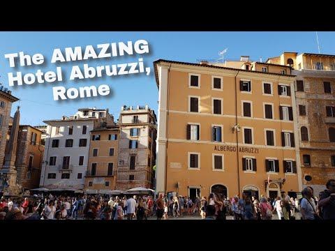 Touring The AMAZING Hotel Abruzzi In Rome, Italy