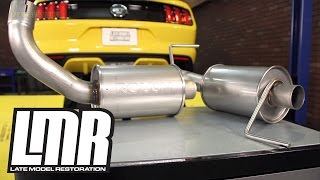 Mustang GT Roush Axleback Exhaust Review & Sound Clips (2015-2016 5.0L)