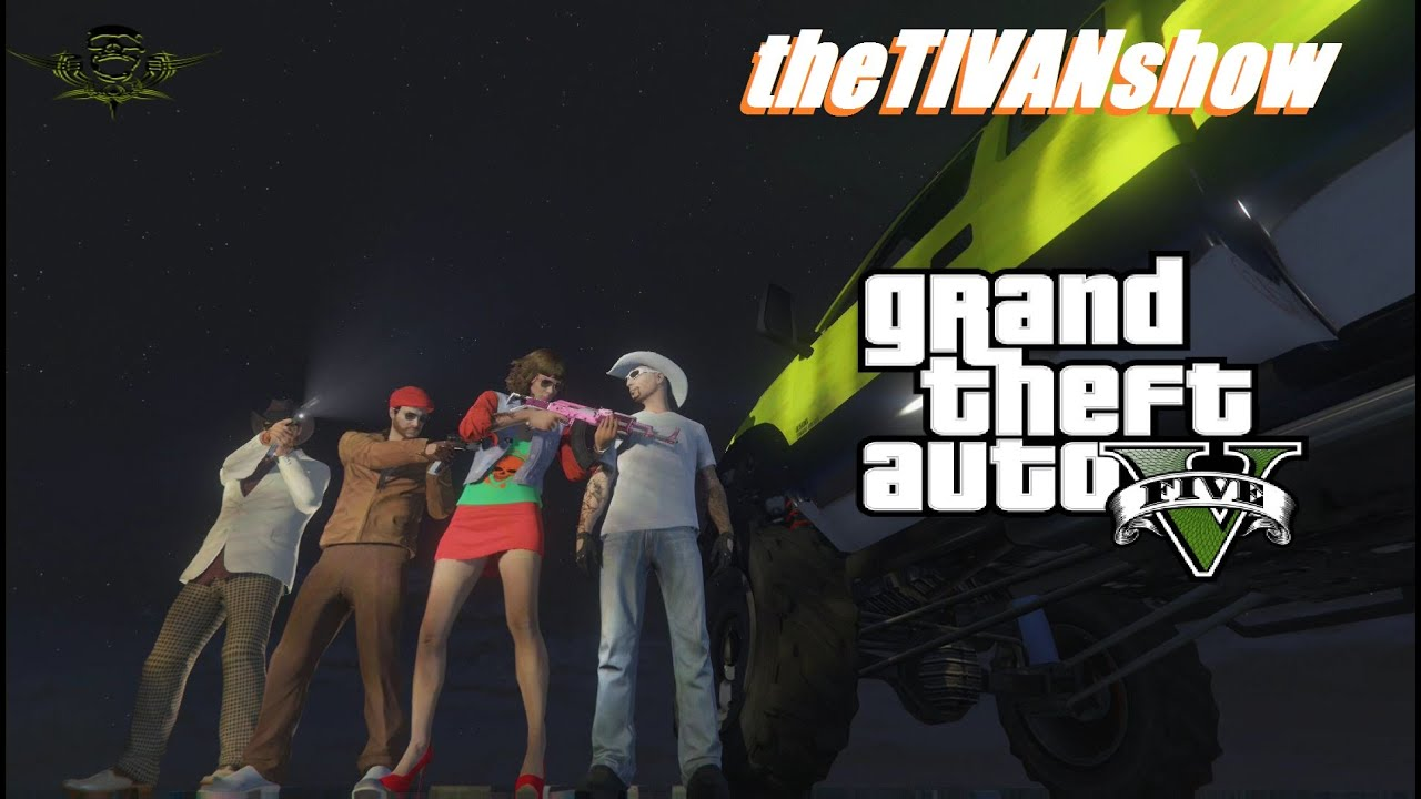 theTIVANshow : GTA5 - THE RAGE WILL MAKE YOU QUIT - NOOB CONTROL - PS4