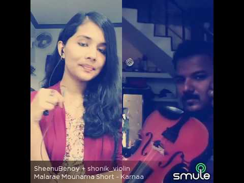 Smule! Malare Mounama - best violin cover