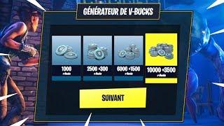 V-BUCKS GENERATOR Functional on FORTNITE? (scam)