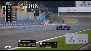 F1  2019年  第2戦  バーレーンGP   スターティンググリッド