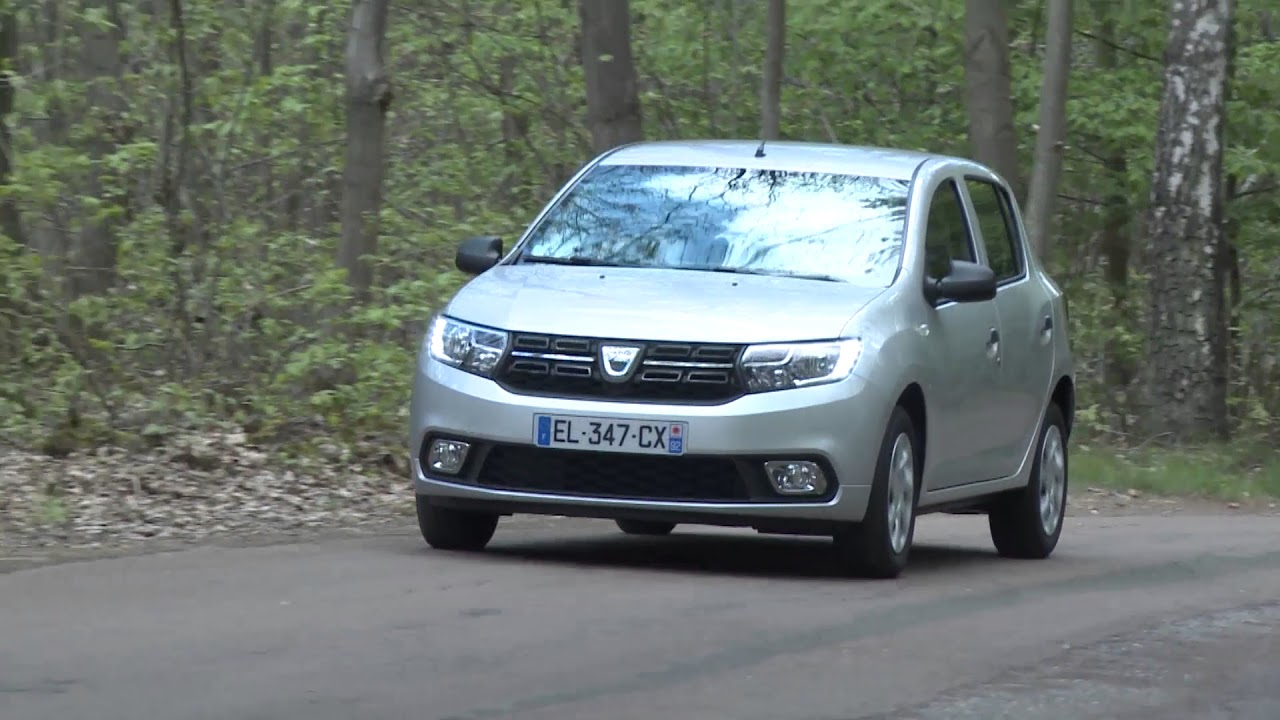 essai dacia sandero sce 75ch ambiance youtube. Black Bedroom Furniture Sets. Home Design Ideas