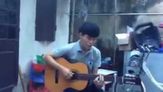 Chút tình mùa lá bay! Guitar cover~