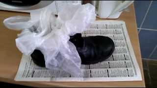 Как быстро и просто разносить обувь. Супер метод(Данный способ подсказали знакомые, а я его немного усовершенствовал (или упростил). Давно просили выложить..., 2013-12-03T17:46:04.000Z)