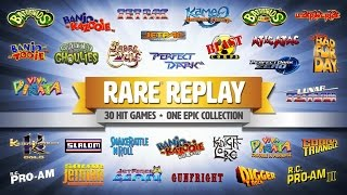 Rare Replay Trailer - Banjo-Kazooie, Conker & 30 Classic Games!! - E3 Announcement