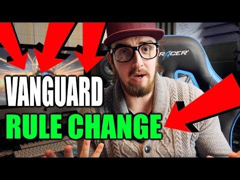 A MAJOR VANGUARD RULING CHANGE ?!