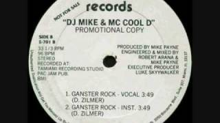 DJ Mike & MC Cool D - Gangster Rock