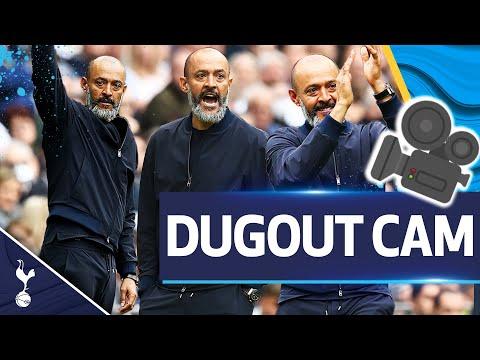Unique view of Nuno's celebrations since his third consecutive Premier League win |  DUGOUT CAM