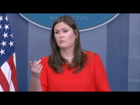 Sep 11, 2017 Sarah Huckabee Sanders White House Press Conference- Full Event