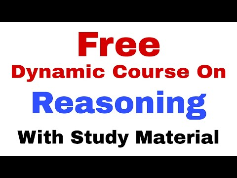 Free Dynamic Course On Reasoning for Bank PO | RRB PO | IBPS PO | Reasoning Strategy for beginners