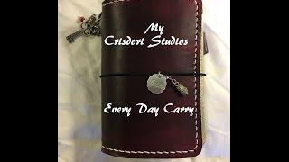 crisdori studios a6 wine after nine leather traveler s notebook