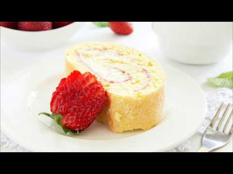 recette-:-gâteau-roulé-à-la-mousse-de-fraises