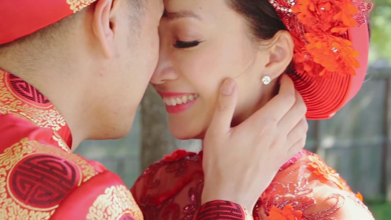 Michael Trang Vietnamese American Buddhist Tea Ceremony Wedding