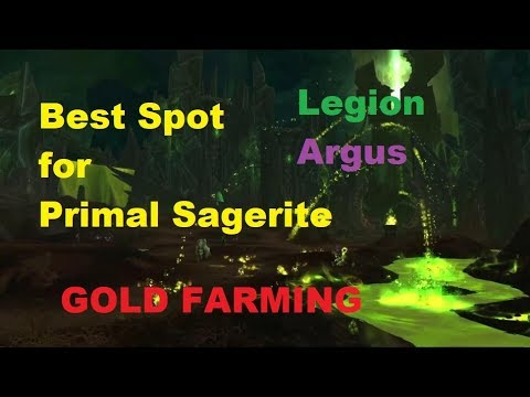 how to get primal sargerite in wow