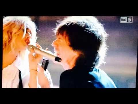 MICK JAGGER - CHRISTINA AGUILERA - SHINE A LIGHT