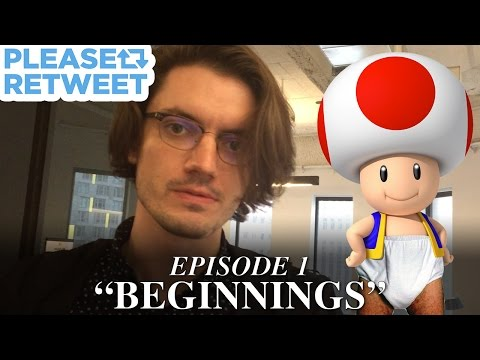 Patrick WILL Make Nintendo Retweet This Picture Of Toad — PLEASE RETWEET, Episode 1