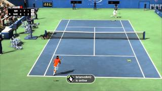 Top Spin 4 Match vs. CrypticGrifter - Nadal vs. Djokovic