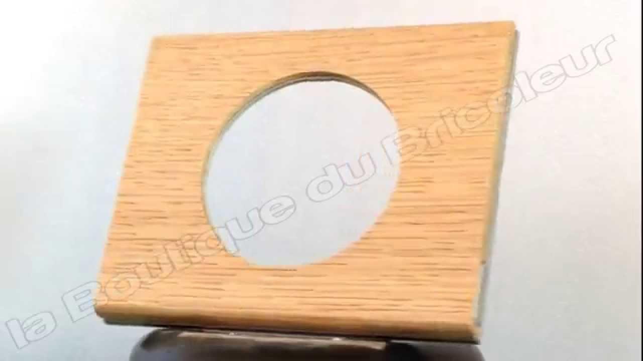 plaque celiane 1 poste cuir chene blanchi ref 69051 sur laboutiquedubricoleur youtube