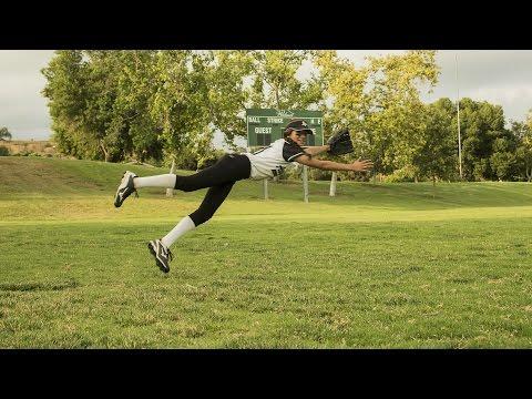 Tony Medina - Outfield drills