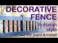 How to Make a Victorian-style Decorative Fence P3, #018
