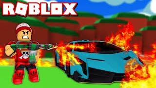 BURNING EVERYTHING in the ROBLOX FIRE SIMULATOR 🔥 → Fire Simulator 🎮