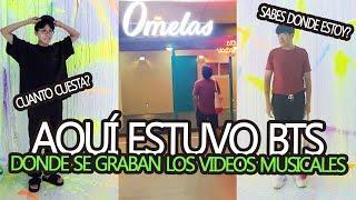 AQUÍ SE GRABAN LOS MV DE BTS | 오늘 EXHIBITION