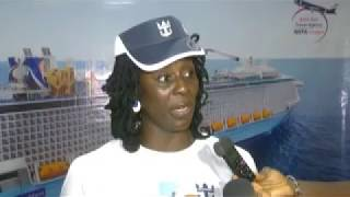 GOLF TV Report on the Launching of the Royal Caribbean Ship posted by GOTA Voyages