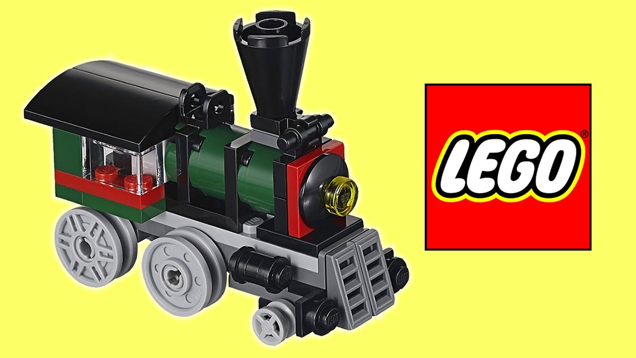 lego creator 3 in 1 emerald express lego train for kids youtube. Black Bedroom Furniture Sets. Home Design Ideas
