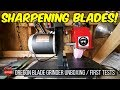 Oregon Blade Grinder For Lawn Care (88-025) 1/3rd HP Unboxing + First Tests