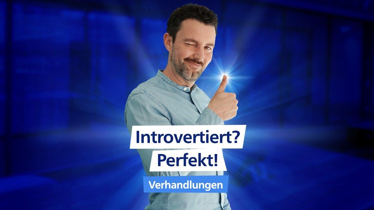 Vorteil introvertierter Menschen (in Verhandlungen) 🚀 #shorts I Traumjob