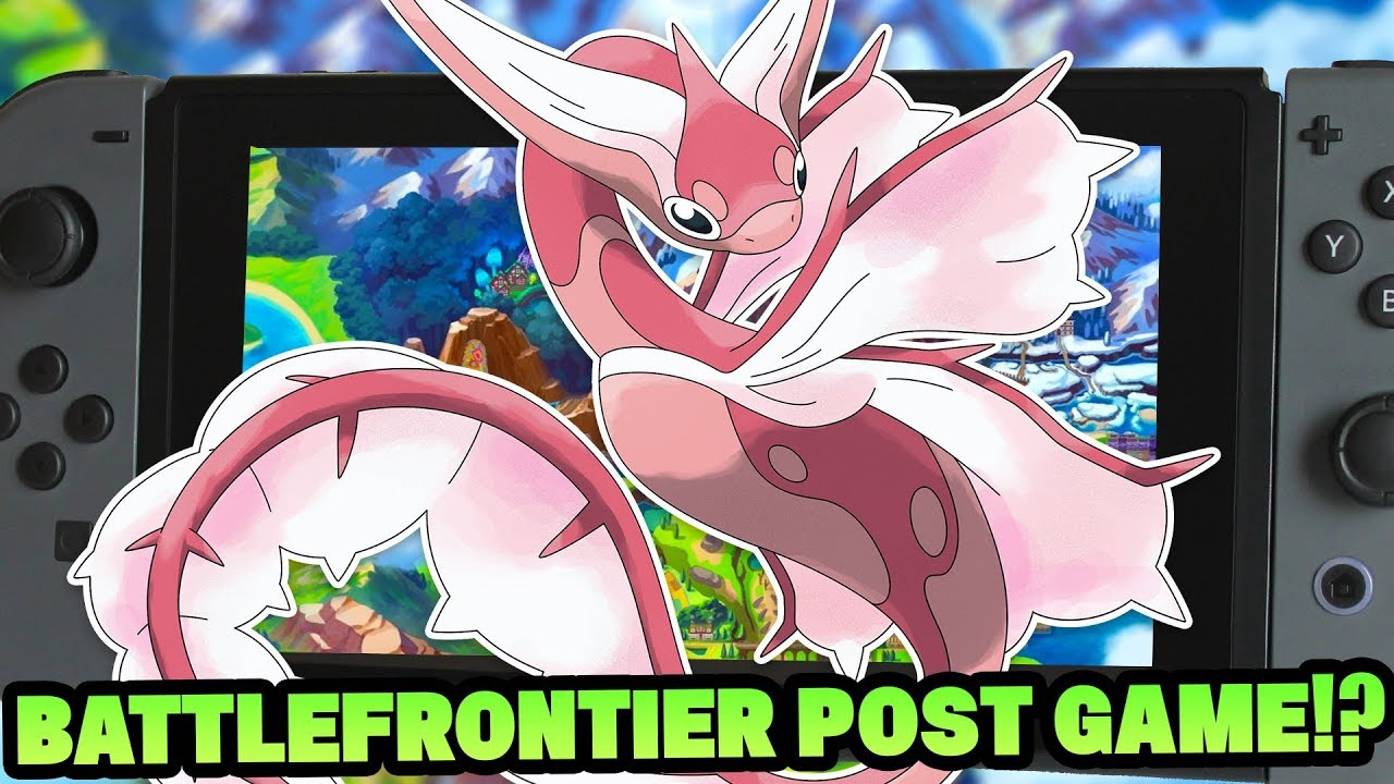 New Pokemon Sword And Shield Rumours Battle Frontier Post Game 95