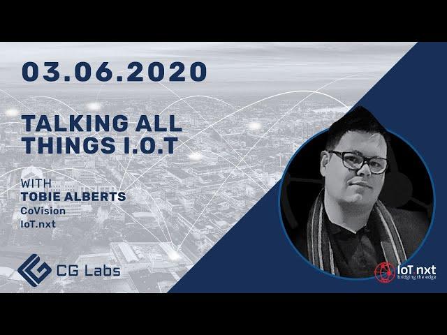 Talking All Things IoT - Tobie Alberts