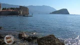 Будва Черногория проход к пляжу Могрен