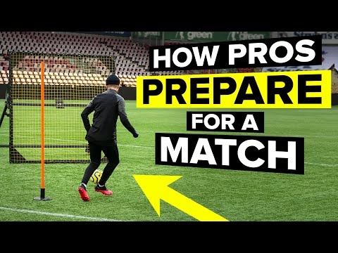 HOW PROS PREPARE FOR A MATCH | Gameday step-by-step